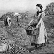 Edith Martineau. The Potato Harvest. 1888