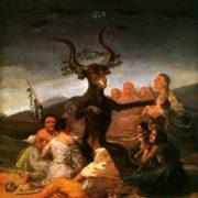 Francisco Goya. Witches' Sabbath