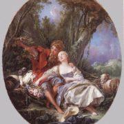Francois Boucher. Shepherd and Shepherdess reposing, 1761