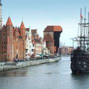 Gdansk - the resort city of Poland