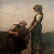 Jules Breton. The Potato Harvest.