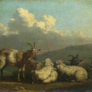 Karel Dujardin. Sheep and Goats