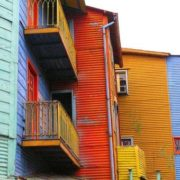 La Boca is a pretty section of the city where the first settlers landed