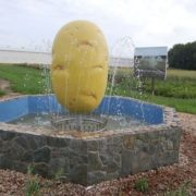 Monument to potatoes, Tyumen region