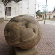 Monument to potatoes in Bolivia