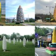 Monuments to corn