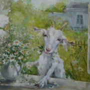 Oksana Kravchenko. The merry goat