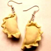 Pierogi earrings