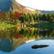 Interesting lake