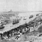 Solemn opening of the Suez Canal
