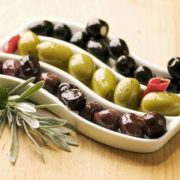 Tasty olives