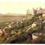 The castle, Harlech Castle, Wales