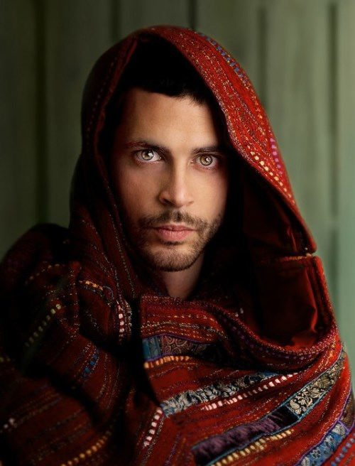 The male version of the Afghan girl