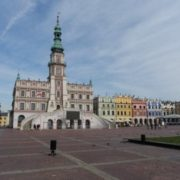 The old part of Zamosc