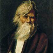Vasily Maximov. Portrait of an old man