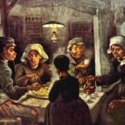 Vincent van Gogh. Potato eaters