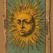 Vintage tarot card