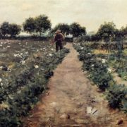 William Merritt Chase. The Potato Patch. 1893
