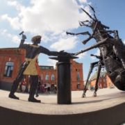 A monument to the cyber flea was opened in Tula