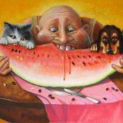 Andrianov Andrey Yurievich. Watermelon dream of Fernando. 2012