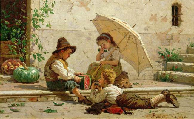 Antonio Ermolao Paoletti. Venetian Children.