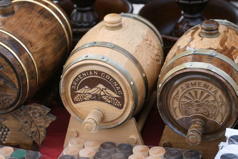 Armenia is famous for cognacs