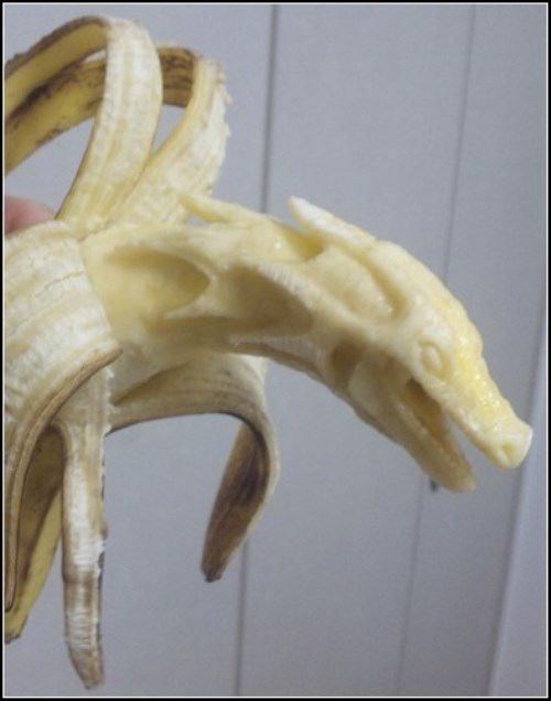 Banana Carvings by Suu
