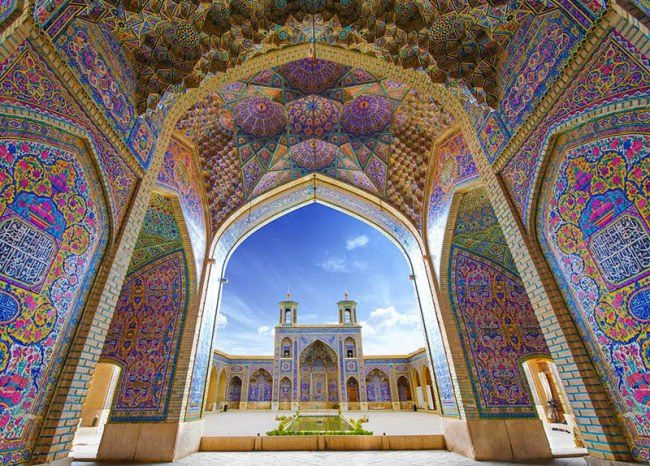 Beautiful Nasir ol Molk Mosque
