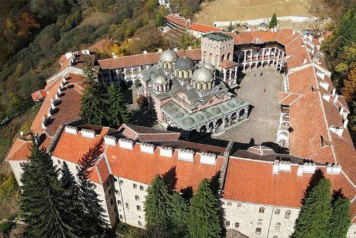 Beautiful Rila Monastery