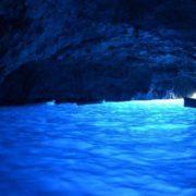 Blue Grotto on the island of Capri