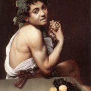 Caravaggio. Sick Bacchus, 1593