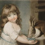 Charles Knight. The favorite rabbit, 1792