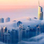 Dubai is in a fog by Sebastian Opitz