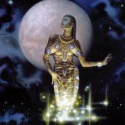 Ereshkigal was the goddess of Irkalla, the land of the dead or underworld