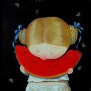Evgenia Gapchinskaya. Watermelon. 2009