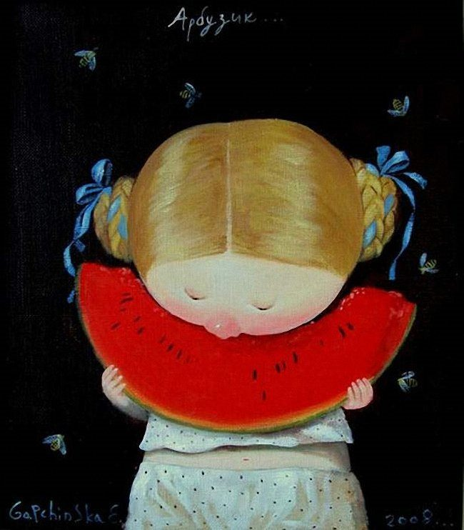 Evgenia Gapchinskaya. Watermelon. 2009