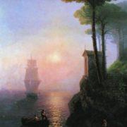 Foggy morning in Italy. Aivazovsky