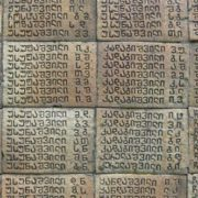 Georgian script