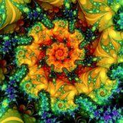 Gorgeous fractals by Titia Vanbeugen