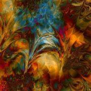 Graceful fractals by Titia Vanbeugen
