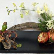 Graceful ikebana