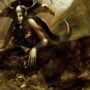Hel - goddess of death
