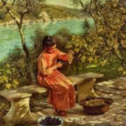 Henry Herbert La Thangue. Ligurian Grapes.