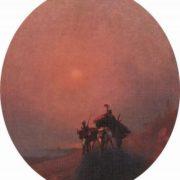 In the fog. Aivazovsky
