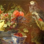 Jan Fyt. Fruit and parrot