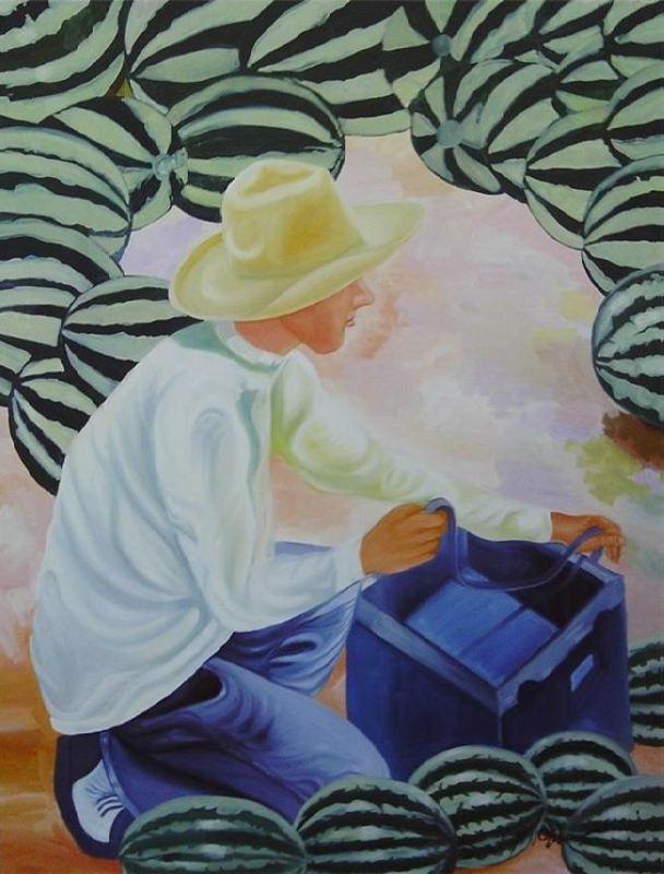 Johnny Otilano. Watermelon Vendor