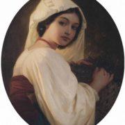 Leopold Pollak. The Grape Picker. 1852