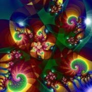 Lovely fractals by Titia Vanbeugen