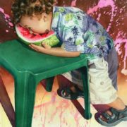 Marguerite Chadwick Juner. The Watermelon Eater