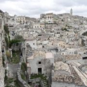 Matera in the region of Basilicata